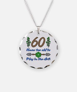 60th Birthday For Gardeners Necklace