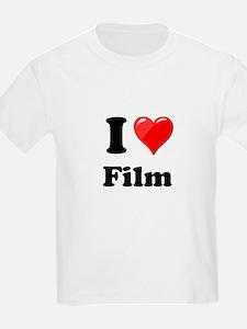 I Heart Love Film T-Shirt