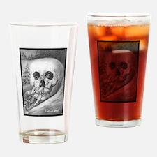 """Tete de mort"" Drinking Glass"
