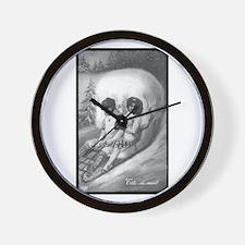 """""""Tete de mort"""" Wall Clock"""
