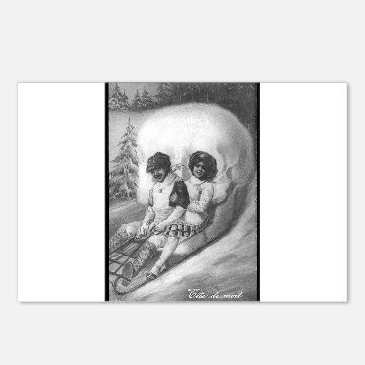 """Tete de mort"" Postcards (Package of 8)"