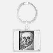 """""""Tete de mort"""" Landscape Keychain"""