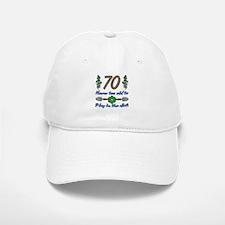 70th Birthday For Gardeners Baseball Baseball Cap