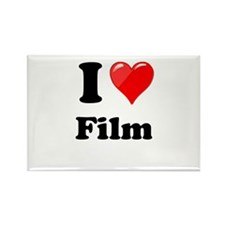 I Heart Love Film Magnets