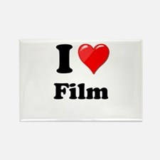 I Heart Love Film Magnets