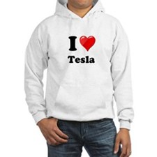 I Love Tesla Hoodie