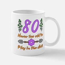 80th Birthday For Gardeners Mugs