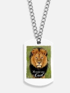 Cecil Dog Tags
