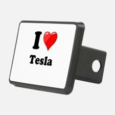 I Love Tesla Hitch Cover