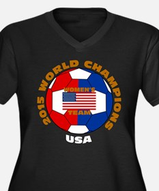 2015 World Champions Plus Size T-Shirt