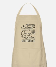 Serenity Prayer (chalk Text) Apron