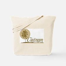 Palm Tree Vietnam Tote Bag