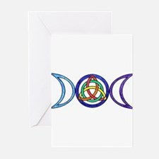 Cute Triple goddess Greeting Cards (Pk of 10)