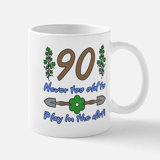 90th Birthday For Gardeners Mugs