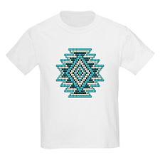 Native Style Turquoise Sunburst T-Shirt