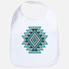 Native Style Turquoise Sunburst Bib