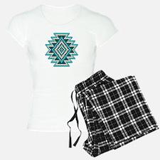 Native Style Turquoise Sunb Pajamas