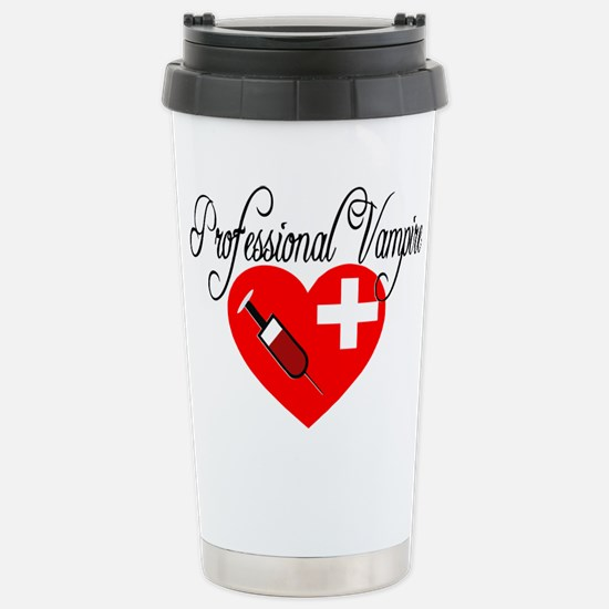 Professional Vampire Travel Mug