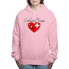 Professional Vampire Women's Hooded Sweatshirt