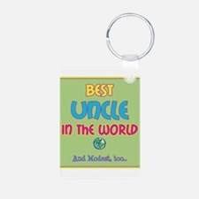 Best Uncle and Modest Keychains