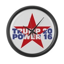 Cute Presidential primary Large Wall Clock