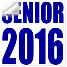 Senior 2016 Wall Decal