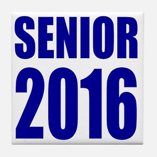 Senior 2016 Tile Coaster