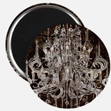rustic wood vintage chandelier Magnets