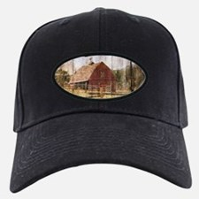 western country red barn Baseball Hat