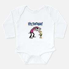 Cute Kids russian Long Sleeve Infant Bodysuit