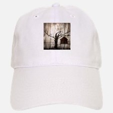 rural landscape old barn Baseball Baseball Cap