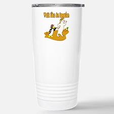 Walk Like An Egyptian Travel Mug