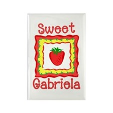 Sweet Gabriela Rectangle Magnet