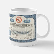 Baltimore Baseball Club Mug Mugs