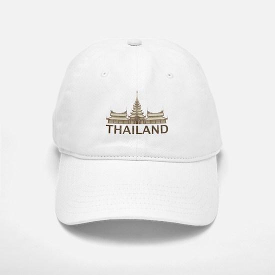 Vintage Thailand Temple Baseball Baseball Cap