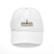 Vintage Thailand Temple Baseball Cap