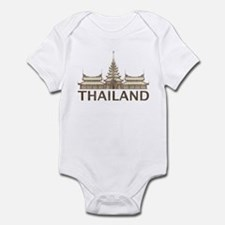 Vintage Thailand Temple Infant Bodysuit