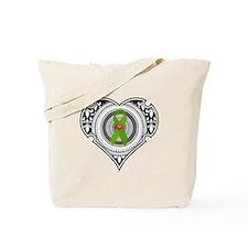 Kidney heart Tote Bag