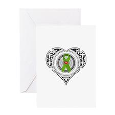 Kidney heart Greeting Card