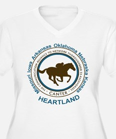 CANTER Heartland logo Plus Size T-Shirt