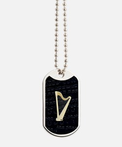Unique Harp Dog Tags
