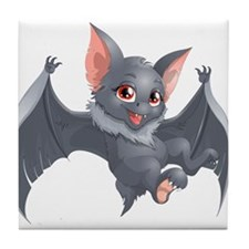bat Tile Coaster