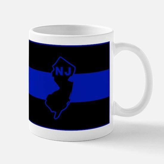 PoliceFlagNJ Mugs