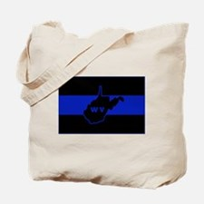 Thin Blue Line - West Virginia Tote Bag