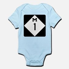 Woodward Avenue Route Shield - M1 Body Suit