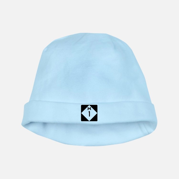 Woodward Avenue Route Shield - M1 baby hat