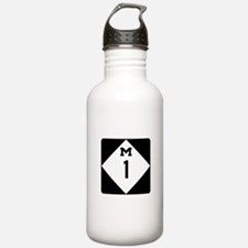 Woodward Avenue Route Water Bottle