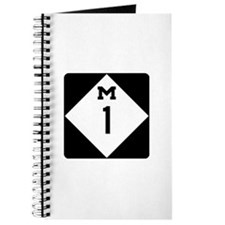 Woodward Avenue Route Shield - M1 Journal
