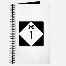 Woodward Avenue Route Shield - M1 Journal