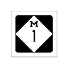 Woodward Avenue Route Shield - M1 Sticker
